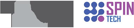 Logo NCBR i SPIN TECH