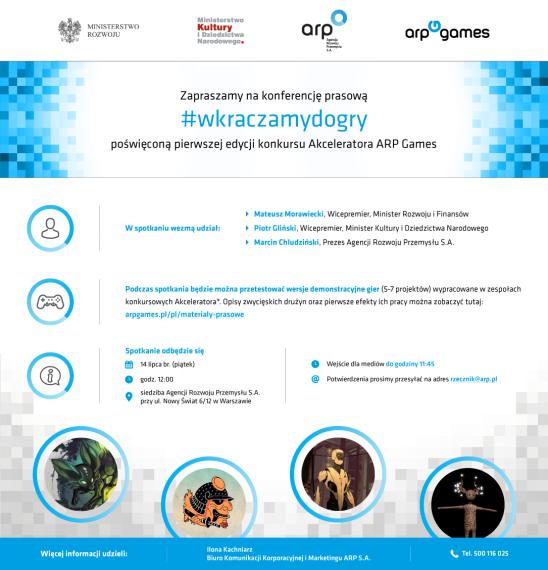 Zaproszenie #wkraczamydogry